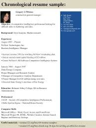 Sample General Manager Resume Top 8 Construction General Manager Resume Samples