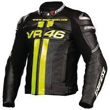 dainese vr46 biker ridre leather jacket for men
