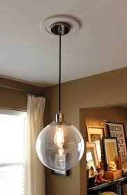 diy vintage kitchen lighting vintage lighting restoration. West Elm Ball Pendant Diy Vintage Kitchen Lighting Restoration T