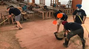Kerala Floods Sikh Volunteers Clean Up Alleppey Church In Time For