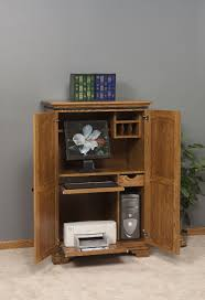 office armoire. Amish Petite Puter Armoire Desk Office