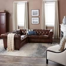 leather sectional sofas. Plain Sofas Abbyson Tuscan Tufted Top Grain Leather 3Piece Sectional Sofa With Sofas A