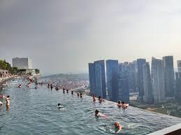 infinity pool mbs. Marina Bay Sands Singapore. Infinity Pool Mbs
