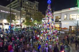 Silver Spring Christmas Tree Lighting Pin By Edibledc Magazine On Events Holiday Silver Spring