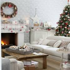 country decorating ideas for living rooms. Exellent Rooms Christmas Living Room Country Decorating Idea 10 Throughout Country Decorating Ideas For Living Rooms R