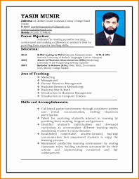 Sample Resume For Job Interview Resume Format For Ojt Stupendous Sample Of Job Interviews 15