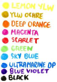 Ecoline Watercolor Brush Pens Review Doodlewash
