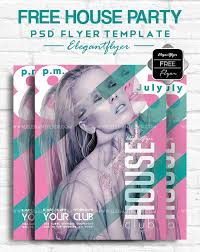 Free House Flyer Template May 2018 20 Fresh Psd Free Premium Party Flyers Templates By