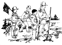 Small Picture Cub Scout Coloring Page Pages Cub Scouts Ideas Pinterest