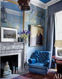 traditional office design. a dozen times arch digest has totally rocked chinoiserie traditional officeblue office design