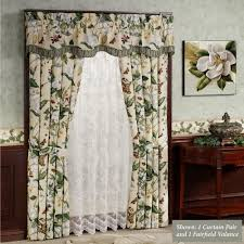 split shower curtain ideas. Garden Images III Floral Window Treatments | Touch Of Class Curtains Split Shower Curtain Ideas D