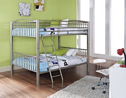 metal bunk beds for kids. Brilliant For Amazoncom Powell Heavy Metal Pewter Full Over Bunk Bed Kitchen U0026  Dining On Beds For Kids