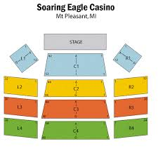 Soaring Eagle Seating Chart Indoors Soaring Eagle Casino Outdoor Seating Chart The Best