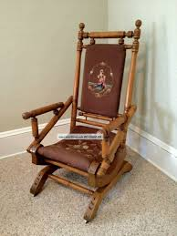 photo 7 of 9 amazing antique maple rocking chair pictures 8 rocking chair upholstered platform rockers antique platform