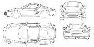 Never before in the history of the porsche boxster has a. Car Outline Porsche Drawings Page 1 Line 17qq Com
