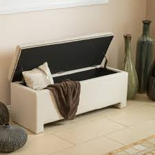 ivory storage ottoman bench home design ideas tall box circular leather small table pouf cube wooden seat tufted coffee with square padded long