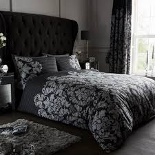details about empire damask duvet covers set single double super king sizes reversible bedding