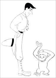 Free Curious George Coloring Pages Curious Printable Coloring Pages