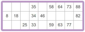 Printable Bingo Cards 90