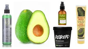 avocado hair products