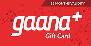Amazon.com: Flat 5% off at checkout||Gaana 12 Month Subscription ...
