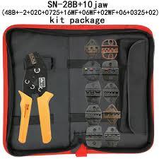 Online Shop <b>SN</b>-<b>28B crimping pliers</b> 10 jaws for TAB 2.8 4.8 6.3/C3 ...