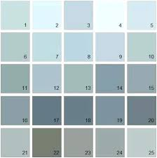 Turquoise Paint Color Chart Benjamin Moore Paint Colors Chart Hyflask