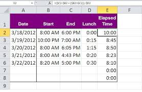 Excel Round Formulas Three Tips For Rounding Excel Time Values Techrepublic