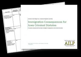 Immigration Consequences For Iowa Criminal Statutes Chart