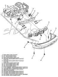 Z28 rear bumper exploded view · wiper motor