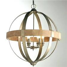 idea rustic orb chandelier for foucaults
