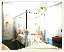 Twin Canopy Bed Curtains Gorgeous Twin Canopy Bed Curtains With ...
