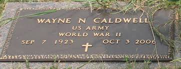 Wayne Norman Caldwell (1923-2006) - Find A Grave Memorial