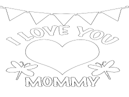 Small Picture I Love My Mom Coloring Pages Download Coloring Pages 8449