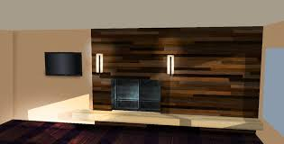 Living Room Wall Panels Interior Lcd Unit Design Ideas Office Wood
