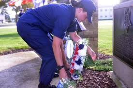 essay u s department of defense photo essay essay on  u s department of defense photo essay coast guard recruit elizabeth carson lays a wreath at the