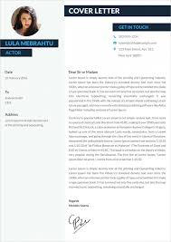 Actor Cover Letter Example Gallery For Photographers Free Sample