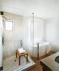 Glass Enclosed Showers impressive glass enclosed shower with wood cabinets 4189 by xevi.us