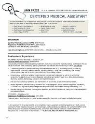 Resume Navigation Cool Resume For Medical Assistant New Fresh Decoration Object Png