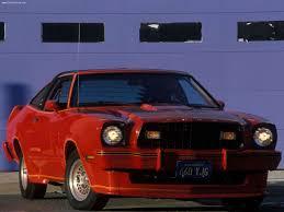 Ford Mustang II King Cobra laptimes, specs, performance data ...