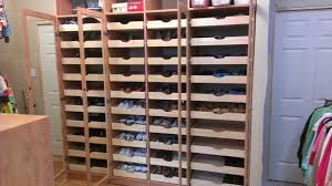 Mega Shoe Storage traditional-closet