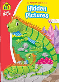 If you have losing your things, you will enjoy finding these games. School Zone Hidden Pictures Workbook 64 Pages Ages 5 Kindergarten 1st Grade Hidden Objects Hidden Picture Puzzles Word Pictures And More School Zone Activity Zone Workbook Series School Zone Joan