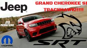 2018 jeep demon. Perfect Jeep 2018 Jeep SRT TrackHawk Reveal On Jeep Demon