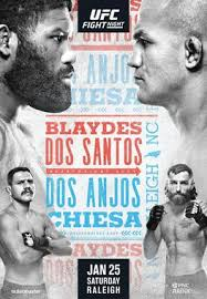 Headlined by heavyweights curtis razor blaydes and derrick the black beast lewis, the prelims are scheduled to start at 4:30 p.m. Ufc Fight Night Blaydes Vs Dos Santos Wikipedia