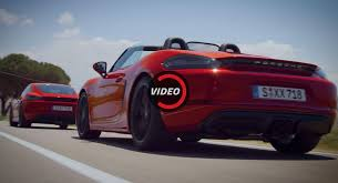 2018 porsche boxster 718 gts. brilliant 2018 new porsche 718 gts put to the test by two racing drivers throughout 2018 porsche boxster gts