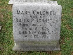 Mary Phoebe Johnston (Caldwell) (1866 - 1935) - Genealogy
