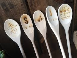 The Wooden Spoon Game Engraved Wooden Spoon Bridal Shower Guest Book Bridal Shower 15