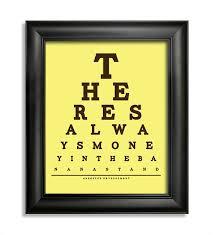 Eye Chart Quotes Dj Storms Blog