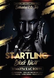 Free Flyer Startling Black Night Flyer Psd Template By Elegantflyer