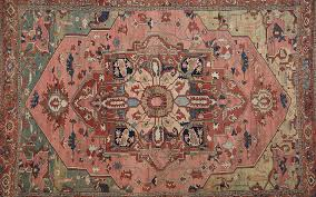 what goes into the design of a traditional oriental rug